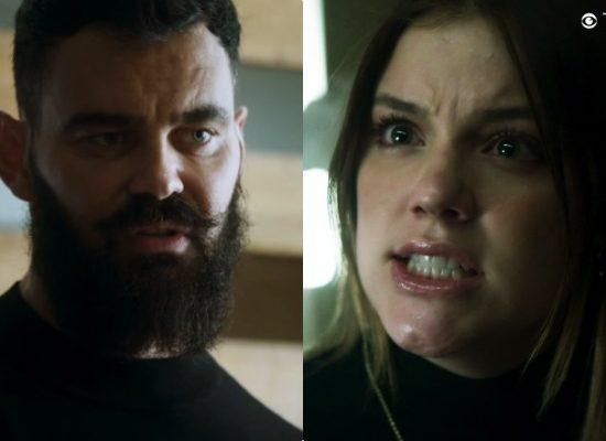 Paul (Carmo Dalla Vecchia) se dará mal junto com Dalila (Alice Wegmann) em Órfãos da Terra