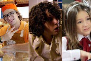 Personagens da novela infantil As Aventuras de Poliana, do SBT