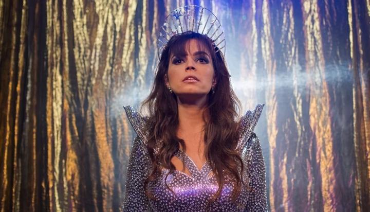 Emanuelle Araújo na série Samantha, da Netflix. (Foto: Divulgação)