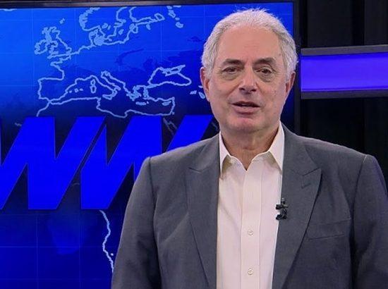 William Waack deve assinar contrato com a CNN Brasil. (Foto: Reprodução)