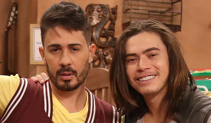 Carlinhos Maia e Whindersson Nunes protagonizam a série Os Roni no Multishow. (Foto: Divulgação)
