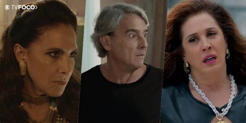 Novo triângulo? Lidiane (Claudia Raia) se interessará por Quinzão (Alexandre Borges) e brigará com Mercedes (Totia Meireles) em Verão 90