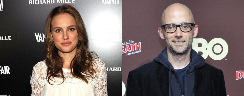 Natalie Portman e Moby (Foto: Reprodução)