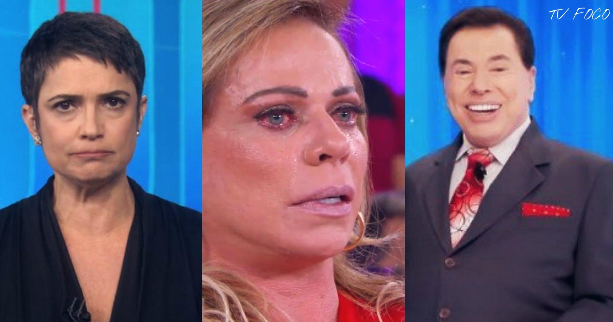 Momentos icônicos da TV brasileira por Silvio Santos, Sandra Annenberg e Christina Rocha