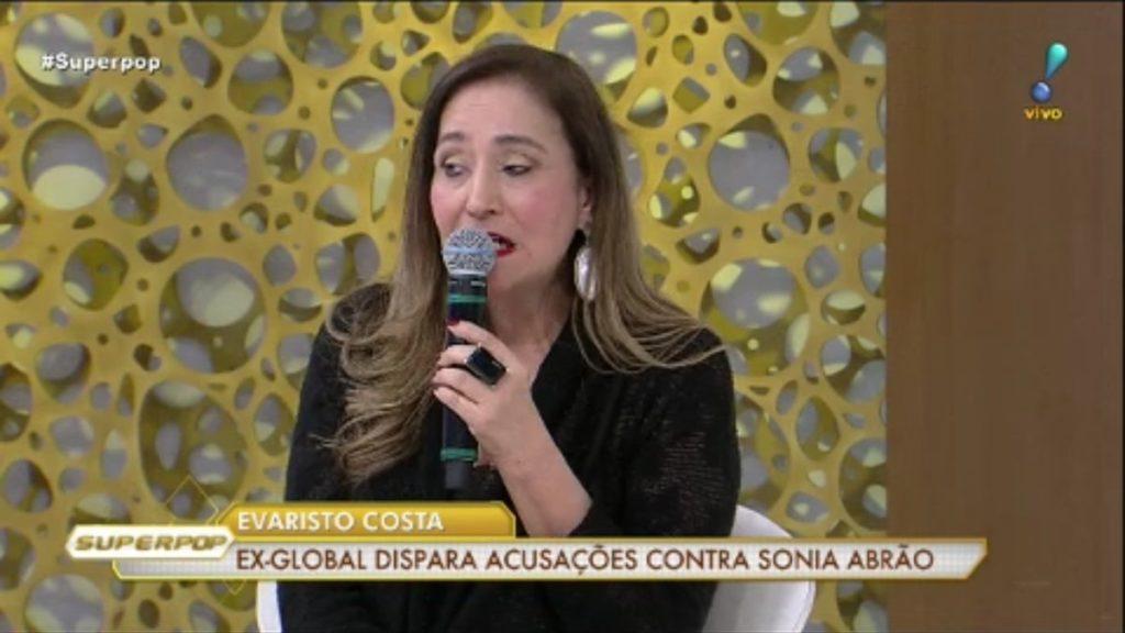 Sonia Abrão dispara contra Evaristo Costa a Luciana Gimenez (Foto: Reprodução)