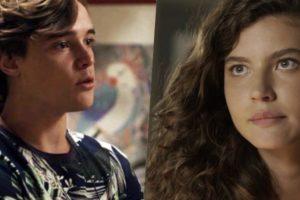 Thiago (Danilo Maia) ficará preocupado com Rita (Alanis Guillen) em Malhação Toda Forma de Amar