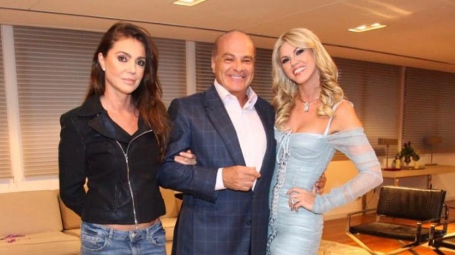 Val Marchiori ataca Luciana Gimenez e fala sobre romance a três com ex da apresentadora, Marcelo de Carvalho Foto: Reprodução