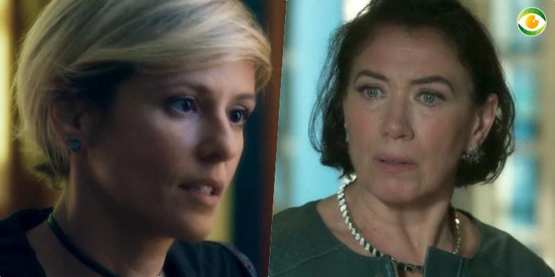 Valentina (Lilia Cabral) correrá risco de ser morta por Louise (Fernanda de Freitas) na reta final da novela O Sétimo Guardião da Globo