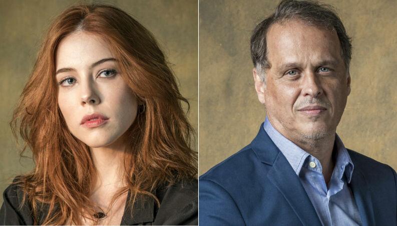 Valéria e Norberto da novela Órfãos da Terra (Foto :Divulgação)