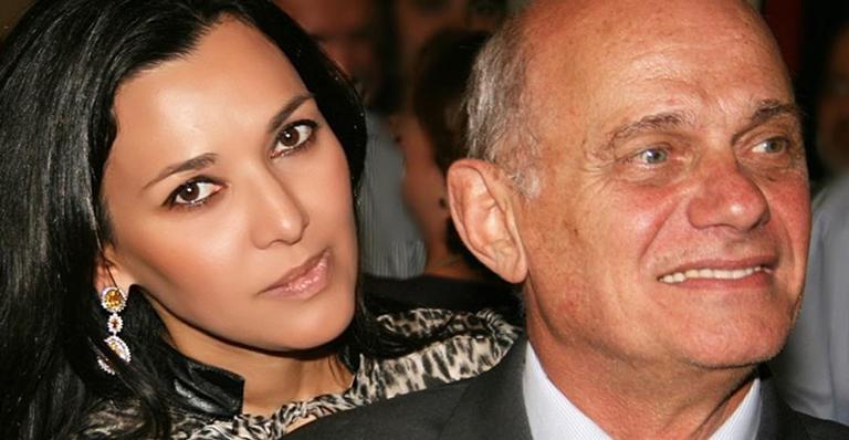 Veruska Seibel e Ricardo Boechat eram casados há cerca de 12 anos (Reprodução/Instagram)