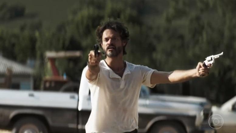 Vicente provoca matança em A Dona do Pedaço da Globo