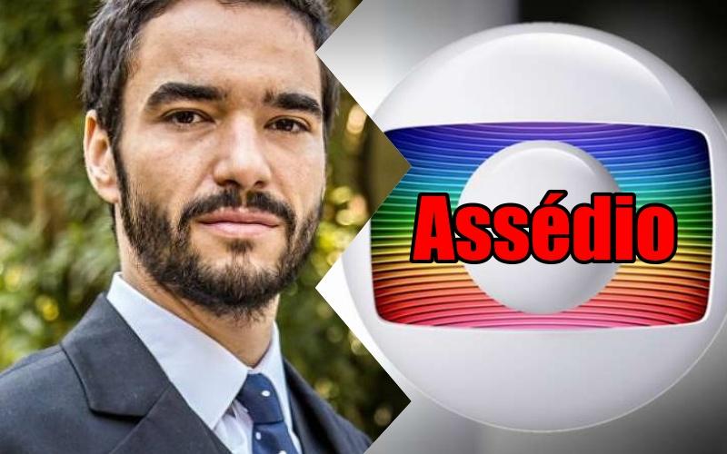 Após apoiar José Mayer em escândalo, Caio Blat é acusado de assédio por atriz de O Sétimo Guardião e Globo se pronuncia Foto: Reprodução