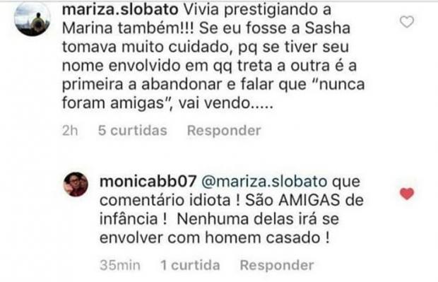 Empresária de Xuxa fez insinuações sobre Marina Ruy Barbosa ao defender Bruna Marquezine (Instagram)