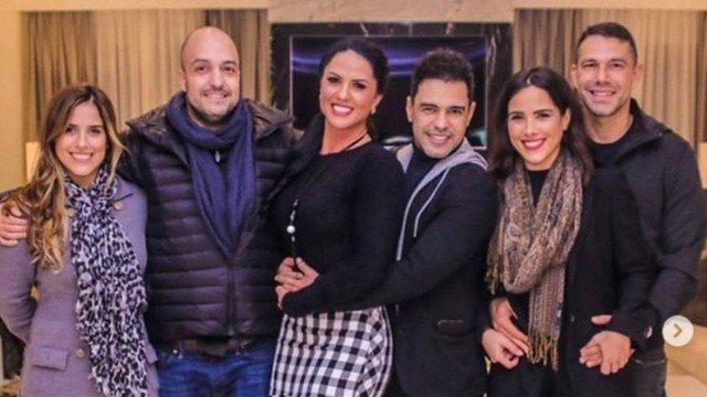 Wanessa, Graciele Lacerda, Zeze di Camargo e Camila Camargo