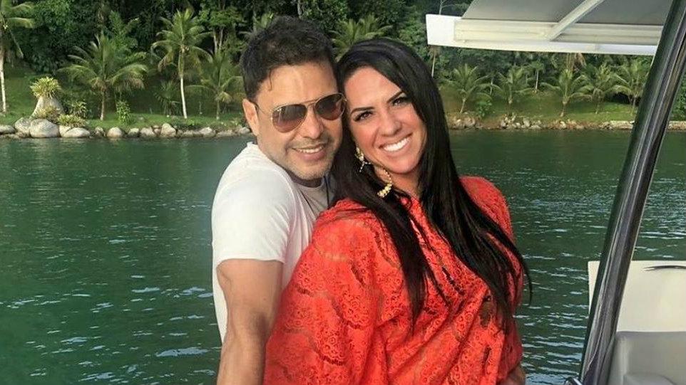 Graciele Lacerda e Zezé Di Camargo terão um filho (Foto: Reprodução)