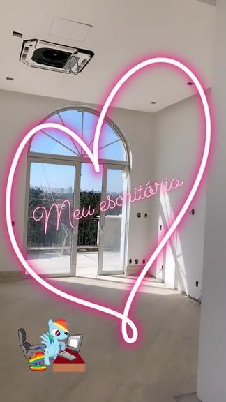 Esposa de Roberto Justos, Ana Paula, mostra detalhes de casa nova (Foto: Reprodução)