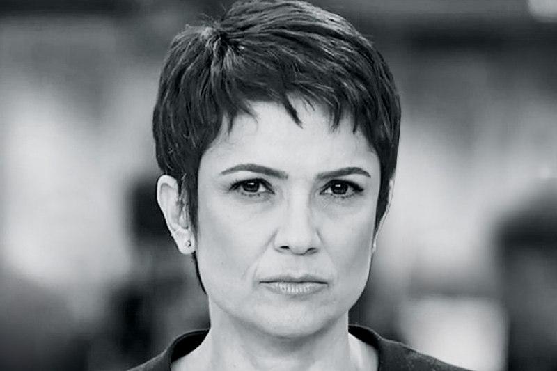 Apresentadora do Jornal Hoje da Globo, Sandra Annenberg tem passado revelado e verdade assusta (Foto: Reprodução/ Globo)