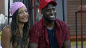 André e Drika Marinho durante o reality show Power Couple Brasil 4, da Record. (Foto: Reprodução)