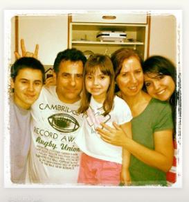 Família do ex-ator do SBT, Rafael