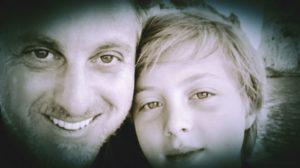Luciano Huck e o filho Benício (Reprodução: Instagram)