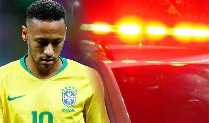 Neymar foi acusado de estupro (Foto: Reprodução/TNH1)