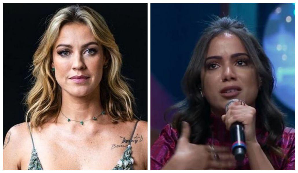 Luana Piovani e Anitta travaram uma seria discussão nas redes sociais (Foto: Reprodução/ Montagem TV Foco)