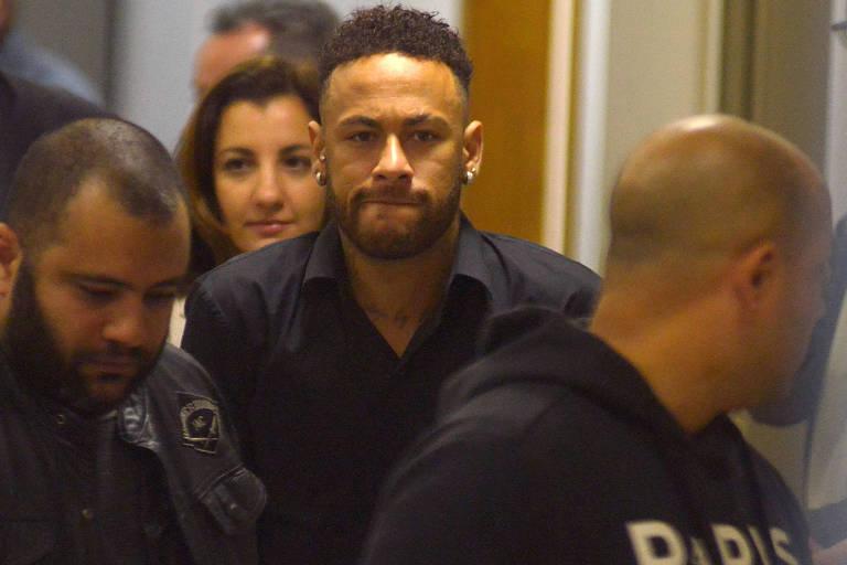 4f0a2c7922 O jogador Neymar Jr mandou recado para Carol Dantas (Foto  Reprodução)
