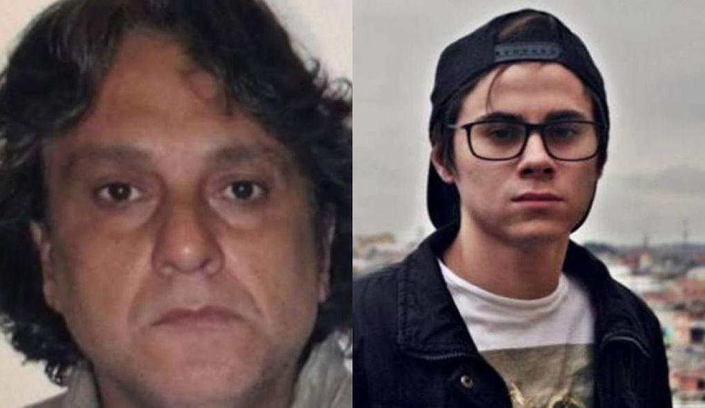 Pai de Isabela Tibcherani, Paulo Cupertino e o ex-ator do SBT Rafael Miguel (Foto: Montagem/TV Foco)