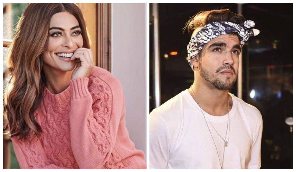 Caio Castro ganhou elogio de Juliana Paes (Foto: Reprodução/ Montagem TV Foco)