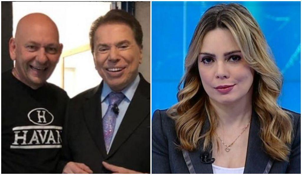 Luciano Hang pediu a Silvio Santos a demissão de Rachel Sheherazade (Foto: Reprodução/Montagem)