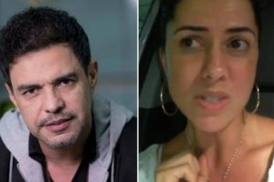 Graciele Lacerda e Zezé Di Camargo voltaram a ser assunto por conta da gravidez (Foto: Reprodução)