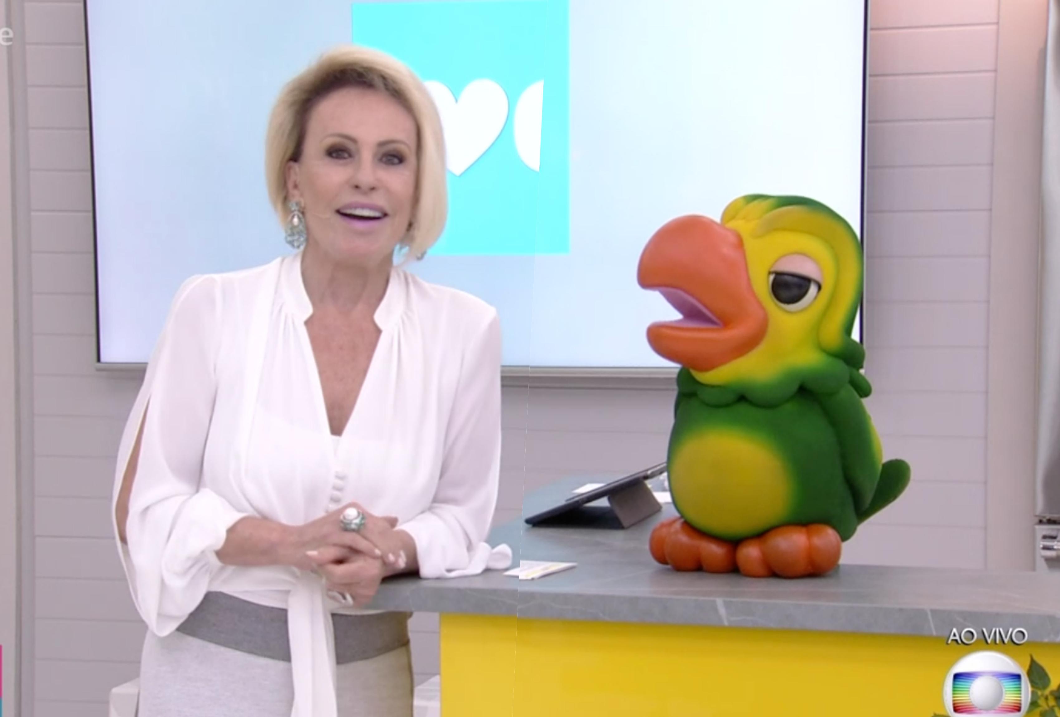 Ana Maria Braga promoveu momento desconfortável no Mais Você no Dia dos Namorados(Foto: Divulgação/Globo)