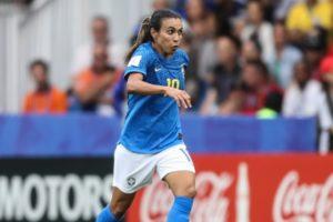 Marta, principal jogadora da Seleção brasileira feminina de futebol (Foto: Divulgação/CBF)