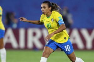 A atacante Marta, principal jogadora da Seleção feminina do Brasil (Foto: Divulgação/CBF)