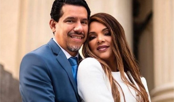 Esposa e Pastor Anderson, que foi assassinado em frente a igreja e principal suspeitos são seus filhos (Foto: Reprodução)