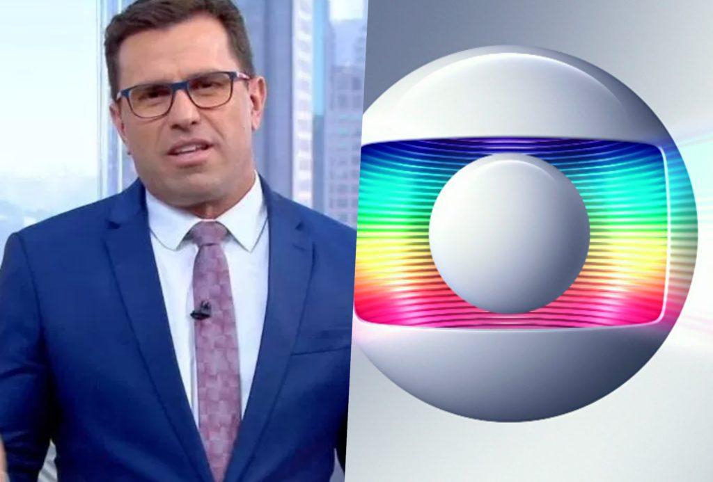 Jornalista recebeu flores ao vivo na Globo, mas ficou decepcionada ao descobrir de quem era