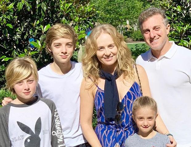 O acidente ocorreu com um dos filhos dos apresentadores Luciano Huck e Angélica da Globo (Foto: Reprodução)