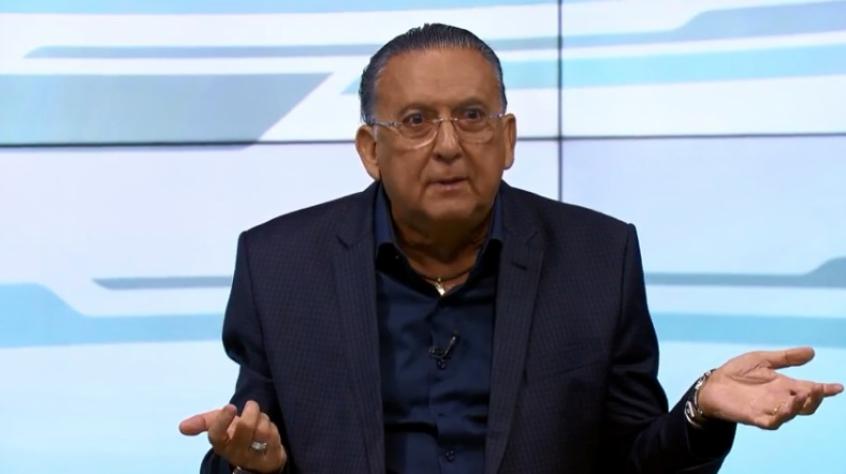 Galvão Bueno falou sobre demissão e afastamentos de jornalistas da Globo durante seu programa no SporTV (Foto: Reprodução)