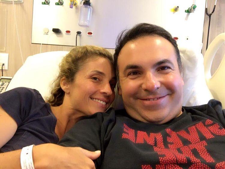 Reinaldo Gottino e a esposa, Simone (Foto: Reprodução/Instagram)