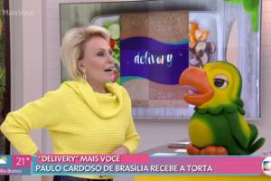 Ana Maria Braga passou por saia-justa após falha ao vivo no Mais Você (Foto: Reprodução/Globo)
