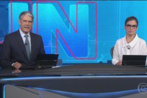 """Jair Bolsonaro disse que a Globo e o Jornal Nacional, bem como outros veículos de mídia, """"mamavam nas tetas do governo"""" (Foto: Reprodução)"""