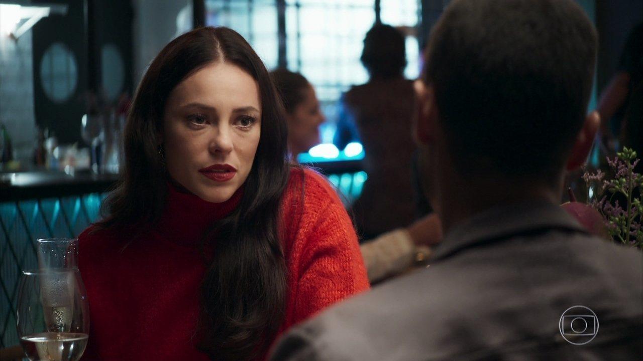 Virgínia adotou o nome artístico de Vivi Guedes na novela da Globo A Dona do Pedaço