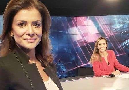 Demitidas do SBT, Karyn Bravo e Analice Nicolau se despediram da emissora de Silvio Santos Foto: Reprodução