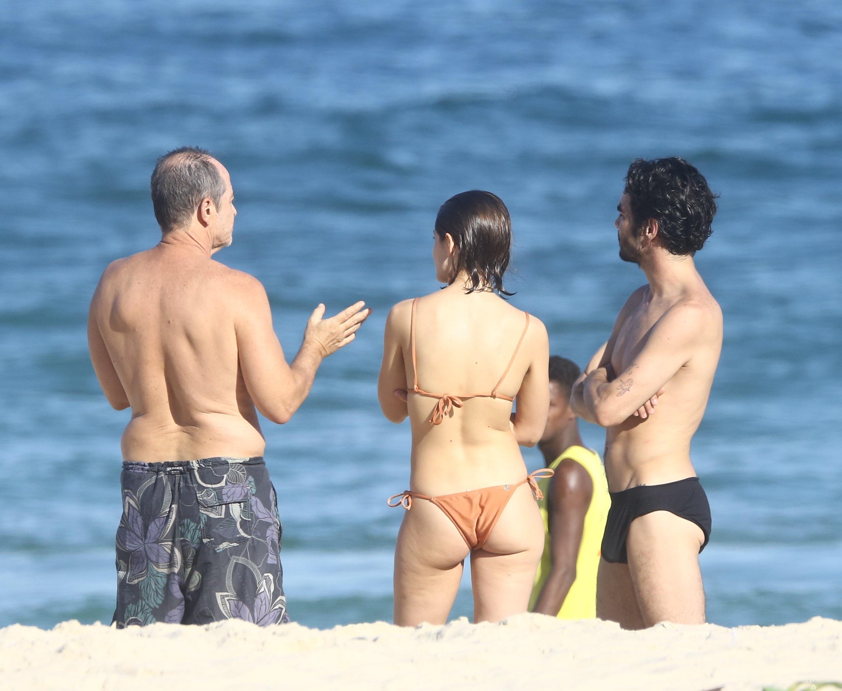 Caio Blat e Luisa Arraes (Foto: AgNews)