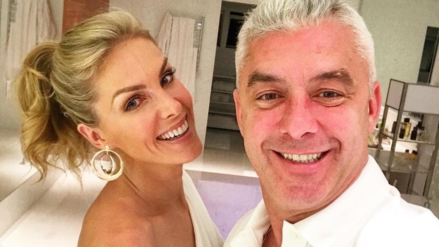 Ana Hickmann e o marido, Alexandre Corrêa (Foto: Reprodução)