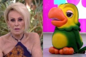 Ana Maria Braga e Louro José (Foto: Divulgação/TV Globo)