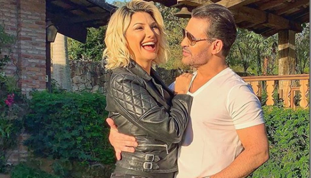 Antonia Fontenelle e Eduardo Costa (Foto: Instagram)