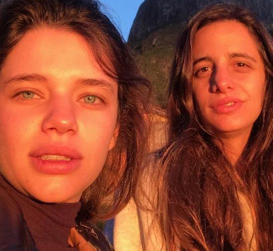 Bruna Linzmeyer e Priscila Fisziman terminaram o namoro (Foto: Reprodução)