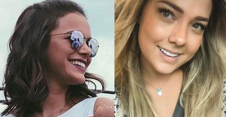 Bruna Marquezine fez questão de parabenizar Carol Dantas, ex de Neymar (Foto: Reprodução)