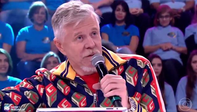 Miguel Falabella fala sobre namoro de Ludmilla no Show dos Famosos, do Domingão do Faustão (Foto: Reprodução)